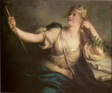 Charles Coypel (1694-1752) la muse calliope